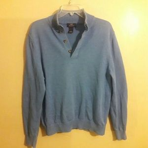 Brooks brother's men's blue supima cotton sweater